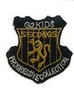 Аппликации герб AK81-41 (золото) Цена за 4 шт