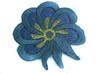 Аппликации цветок AP111-64 (темно серый) Цена за 10 шт