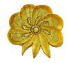 Аппликации цветок AP111-9 (ярко желтый) Цена за 10 шт