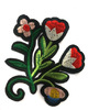 Аппликации цветы AK62-4 (красный) Цена за 2 шт