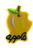 Аппликации самолет AP044-7 (желтый) Цена за 10 шт