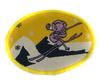 Аппликации лыжник AP129-7 (желтый) Цена за 10 шт