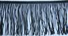 Бахрома резаная BHR25-3 (черный) Цена за 10 метров