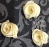 Цветы пришивные КЦ277-24 (бежевый) Цена за 50 шт