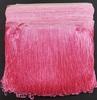 Бахрома танцевальная петлями Bht15sm-34 (розовый) Цена за 16,4 метра