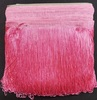 Бахрома танцевальная петлями Bht25sm-34 (розовый) Цена за 16,4 метра
