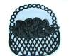 Пришивные элементы из ткани PEL2-3-2шт (черный)