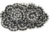 Пришивные элементы из ткани 1525-1-52 (бело-серый)