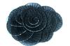 Пришивные элементы из ткани  Jabo15-3 (черный) Цена за 2 шт