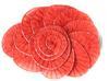 Пришивные элементы из ткани  Jabo15-4 (красный) Цена за 2 шт
