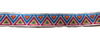Тесьма жаккардовая 15001-11 (синий) Цена за 10 метров