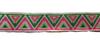 Тесьма жаккардовая 25001-34 (розовый) Цена за 10 метров