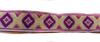 Тесьма жаккардовая 25002-43 (фиолетовый) Цена за 10 метров