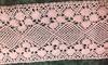 Кружево лен 621-3042-134 (розовый) Цена за 13,7 метров