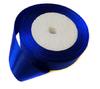 Лента атласная AL25-11 (ярко синий) Цена за 25ярд. (22,85 м)