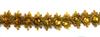 Тесьма металлизированная с камнями 8190-41 (золото) Цена за 9,1 метра