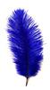 Перо страуса PRK20-25-11 (синий) Цена за 5 шт