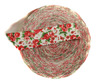Резинка декоративная PEZ31-6sm-4 (красный) Цена за 43 метра