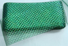 Регилин с люрексом RGL12-18 (зеленый) Цена за 25 ярд.(23м)