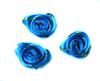 Розочки атласные 1-34-16 (голубой) Цена за 20 шт