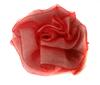Цветы пришивные KZ6-4 (красный) Цена за 10 шт