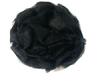 Цветы пришивные KZ7-3 (черный) Цена за 10 шт