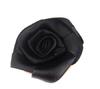 Цветы пришивные КЦ324-3(черный) Цена за 10 шт
