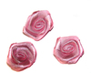 Цветы пришивные КЦ2-34 (розовый) Цена за 10 шт