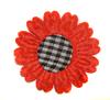 Цветы пришивные AP05-4 (красный) Цена за 10 шт