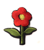 Аппликации цветок AP039-4 (красный) Цена за 10 шт
