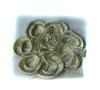 Цветы пришивные 20870-24 (бежевый) Цена за 10 шт