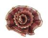 Цветы пришивные КЦ308-39 (бордо) Цена за 10 шт