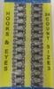 Крючки пришивные HOOKS3-3 (черный) Цена за 24 шт