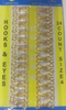 Крючки пришивные HOOKS4-41 (золото) Цена за 24 шт