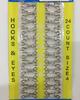Крючки пришивные HOOKS4-42 (серебро) Цена за 24 шт