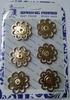Кнопки декоративные KPDM3-2,7sm-41 (золото)