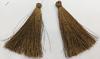 Кисти вискоза KKH7-29 (темно коричневый) Цена за 10 шт