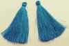 Кисти вискоза KKH7-16 (голубой) Цена за 10 шт