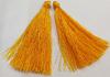 Кисти вискоза KKH7-10 (темно желтый) Цена за 10 шт