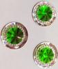 Стразы пришивные SPKK01-15mm (зеленый) Цена за 30 шт