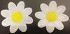 Аппликации ромашка 582-1(белый) Цена за 20 шт