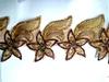 Кружево органза 2587-27-41 (коричневый)