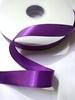 Лента атласная AL2-45 (темно фиолетовый)  Цена за 100 ярд. (91,4 м)
