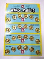 Кнопки пришивные для одежды RABBIT-41