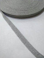 Киперная лента х/б KL-64(серый)