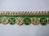 Тесьма декоративная TDS32-18 (зеленый)