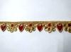 Тесьма декоративная 1903-4 (красный)