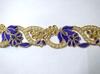 Тесьма декоративная 9005-43 (фиолетовый)