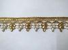 Тесьма декоративная TDS35-41 (золото)