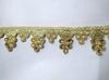 Тесьма декоративная TDS46-41 (золото)